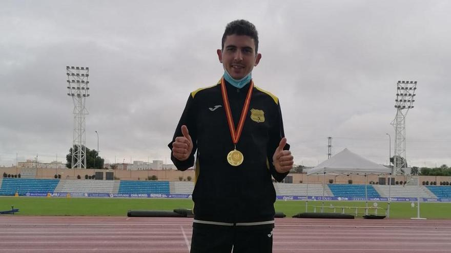Oro para Dani Planells en el Nacional de atletismo para sordos