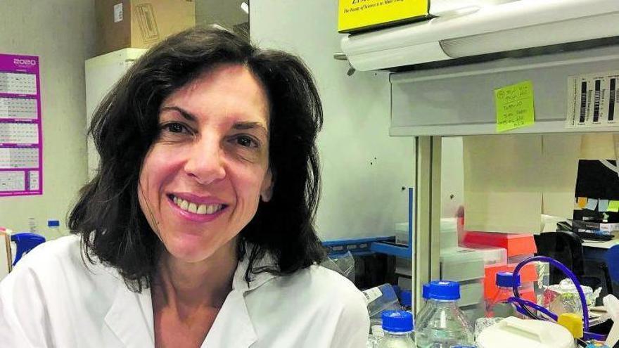 La doctora Cristina Rodríguez-Antona, en el Centro Nacional de Investigaciones Oncológicas. | | E. D.
