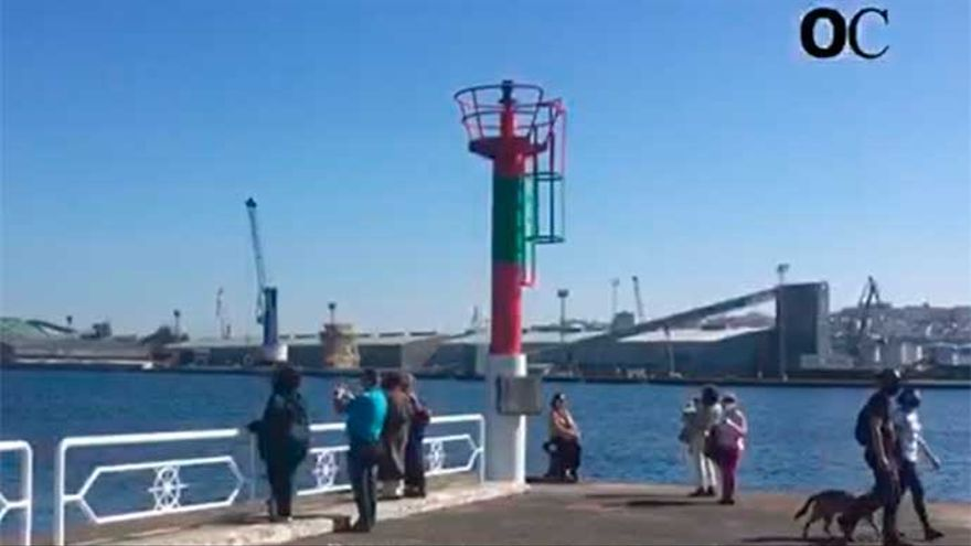 'Redeiros' del puerto ofrecerán una demostración de reciclaje de redes en Trasatlánticos