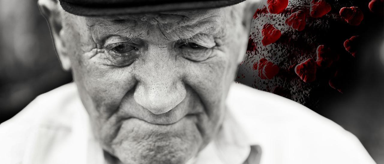 Los mayores gallegos que viven solos crecen en 13.000 el año del coronavirus