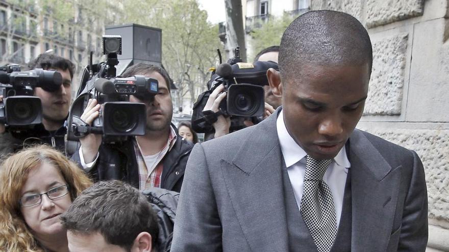 Samuel Eto'o se someterá a una prueba de paternidad por orden judicial