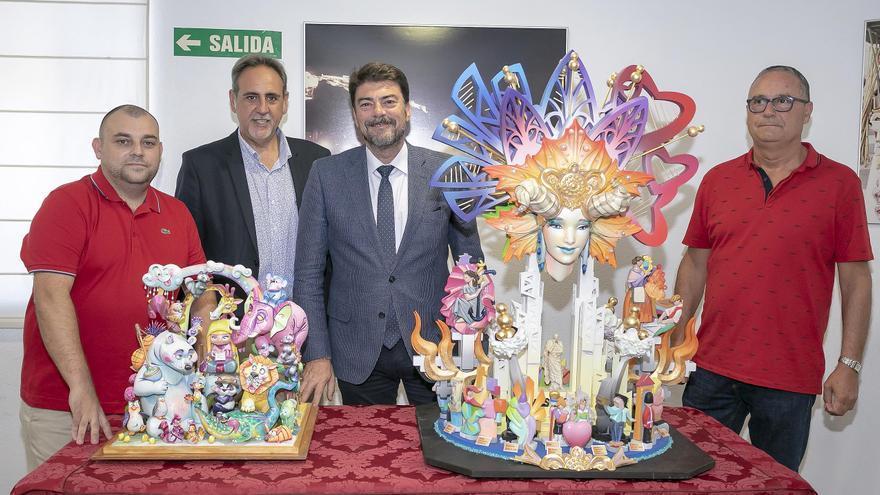 El alcalde de Alicante descarta que se vaya a plantar la Hoguera Oficial en 2021