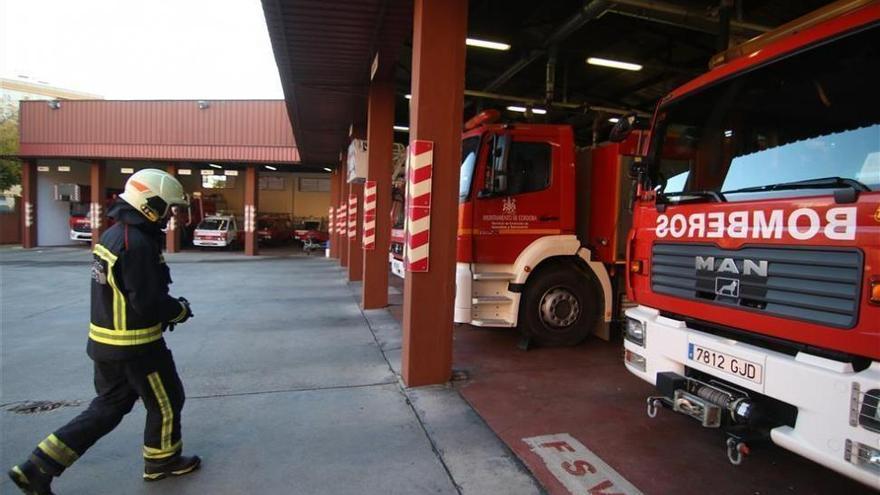 Arde un contenedor en la zona de El Patriarca de Córdoba