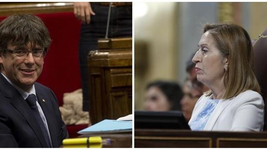 Puigdemont pide debatir el referéndum en el Congreso
