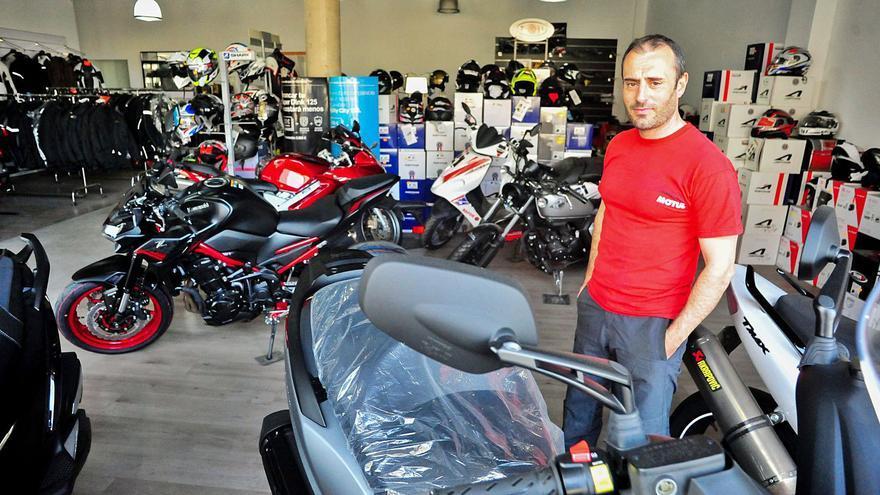 """""""Vendiendo una moto de 3.000 euros, ganamos 80"""""""