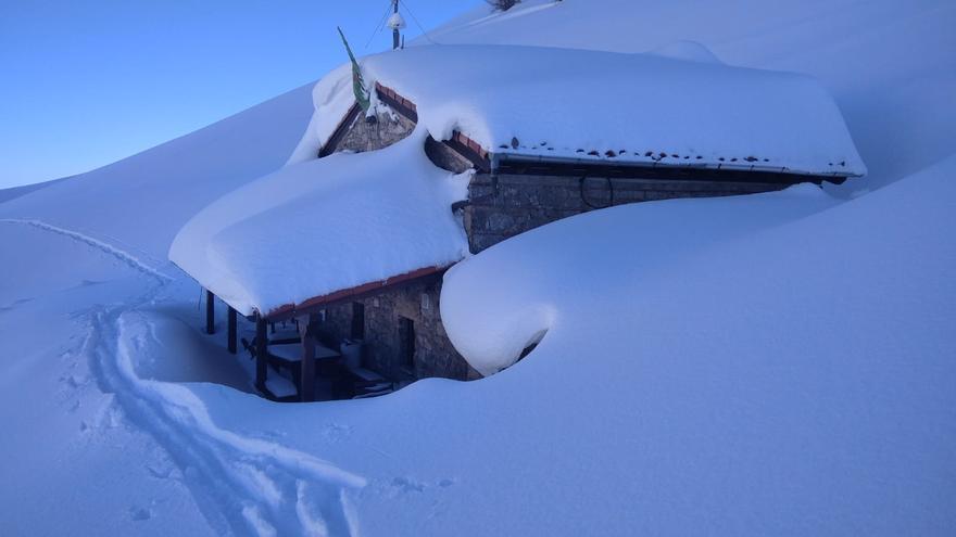 Las heladas se multiplican por Asturias en otra jornada de temperaturas bajo cero