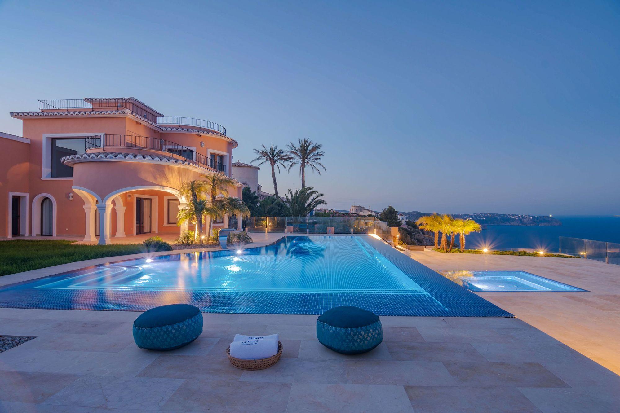 Una piscina de Xàbia, premiada por su diseño
