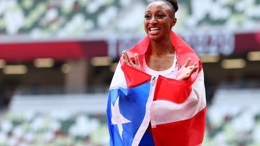 La puertorriqueña Camacho-Quinn se alza con el oro en los 110 metros vallas