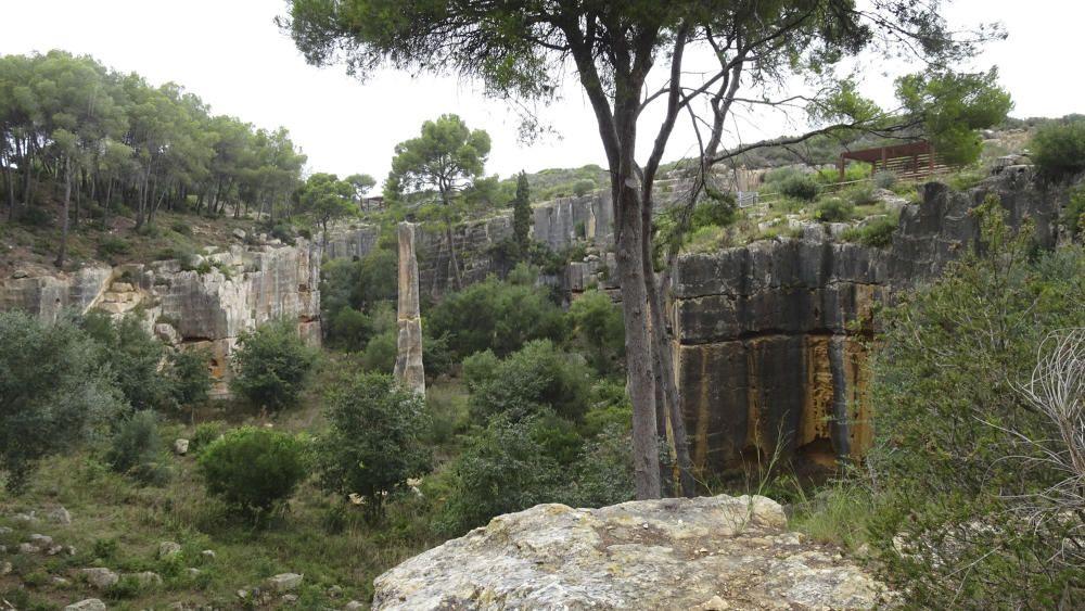 La pedrera romana del Mèdol és una gran foia, coneguda com el Clot del Mèdol, de més de 200 metres de llargada i una amplada d'entre 10 i 40 metres.