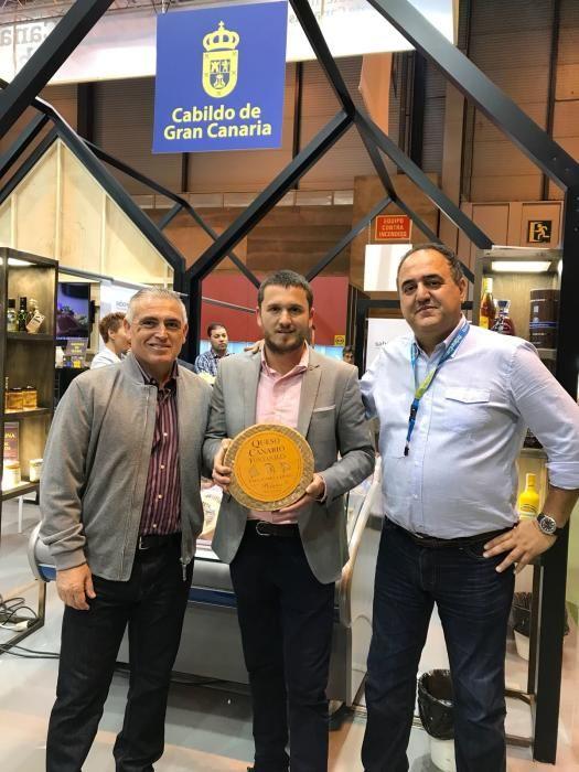 El queso Bolaños Fontanales de Gran Canaria triunfa en el Salón de Gourmets de Madrid