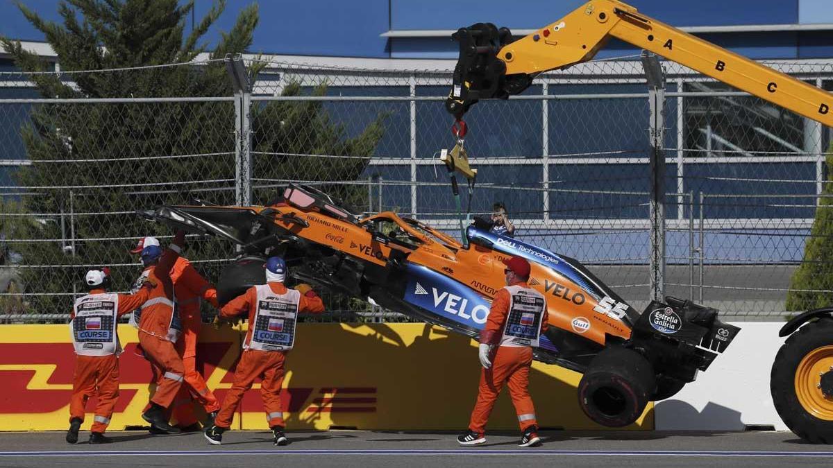 El piloto español Carlos Sainz (McLaren).