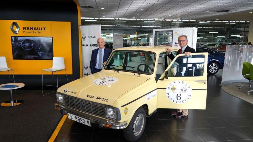 """La ruta """"Renault 6 provincias"""" celebrará el 50 aniversario del modelo fabricado en Valladolid con un recorrido de 810 kilómetros"""