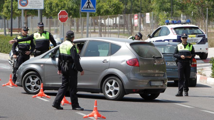 Más de un centenar de denuncias en el último cierre perimetral de Sagunt