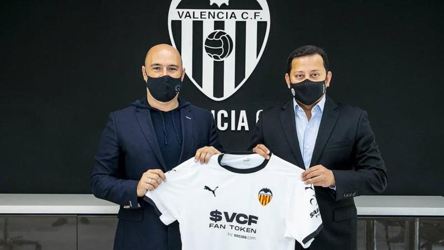 El Valencia anuncia su nuevo espónsor