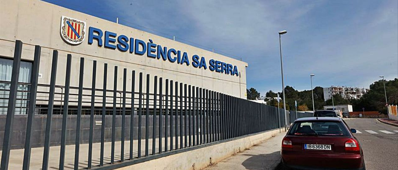 La residencia Sa Serra, en una imagen de archivo.   J.A. RIERA