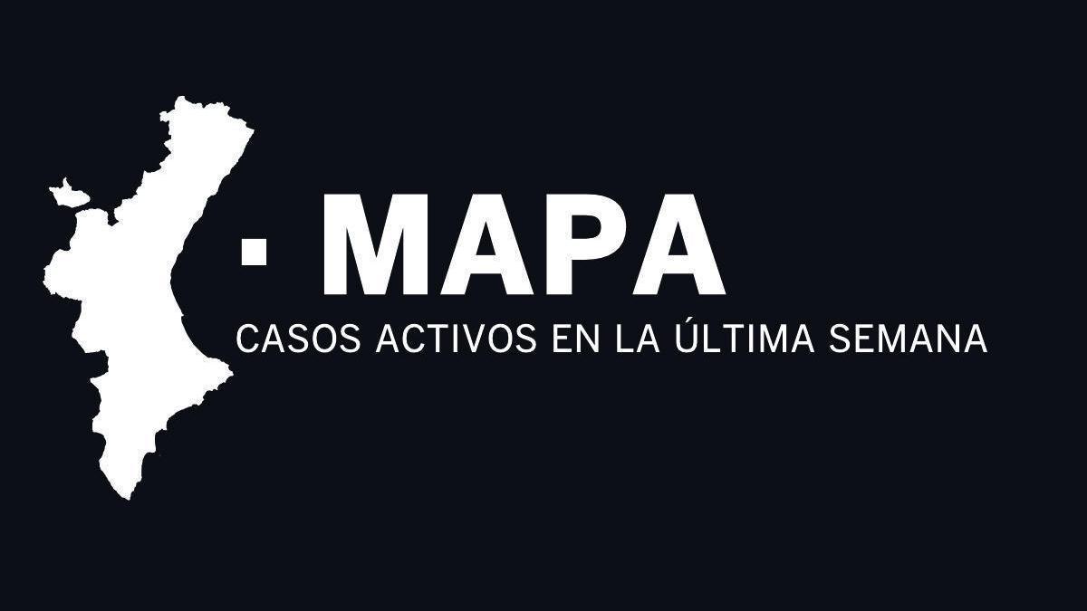 MAPA | Últimos contagios de coronavirus, municipio por municipio