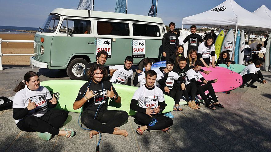 Surf para todos en San Lorenzo