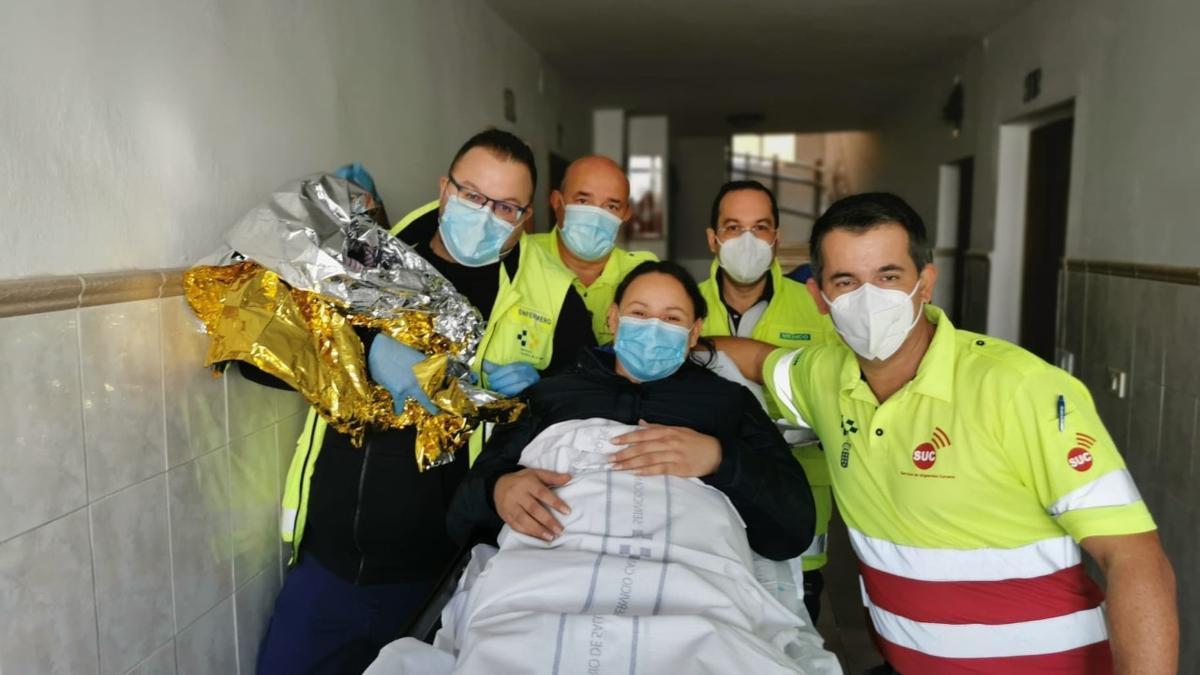 El SUC ayuda a nacer a un nuevo bebé en Gran Canaria