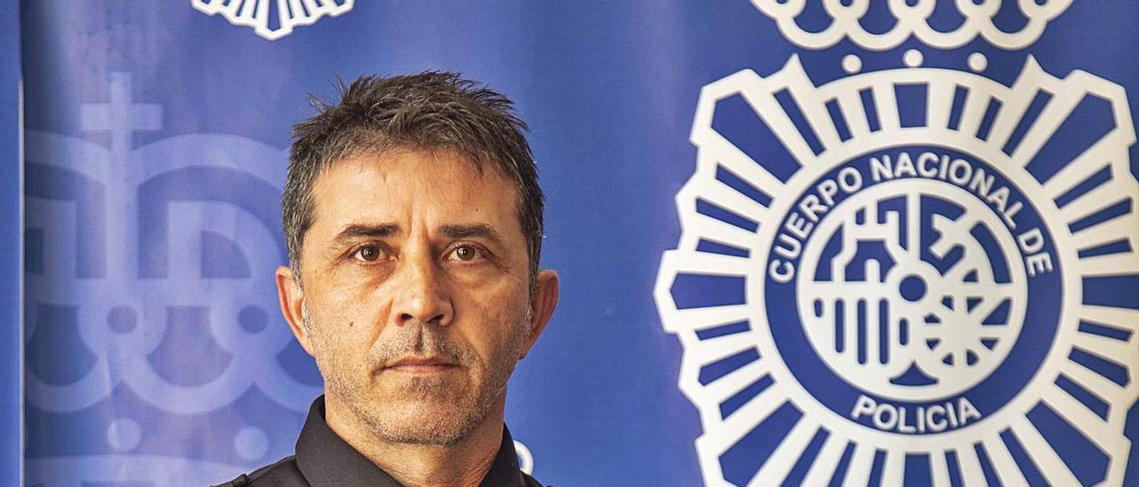 El inspector jefe Fernando Corchero, jefe de la Brigada de Seguridad Ciudadana.