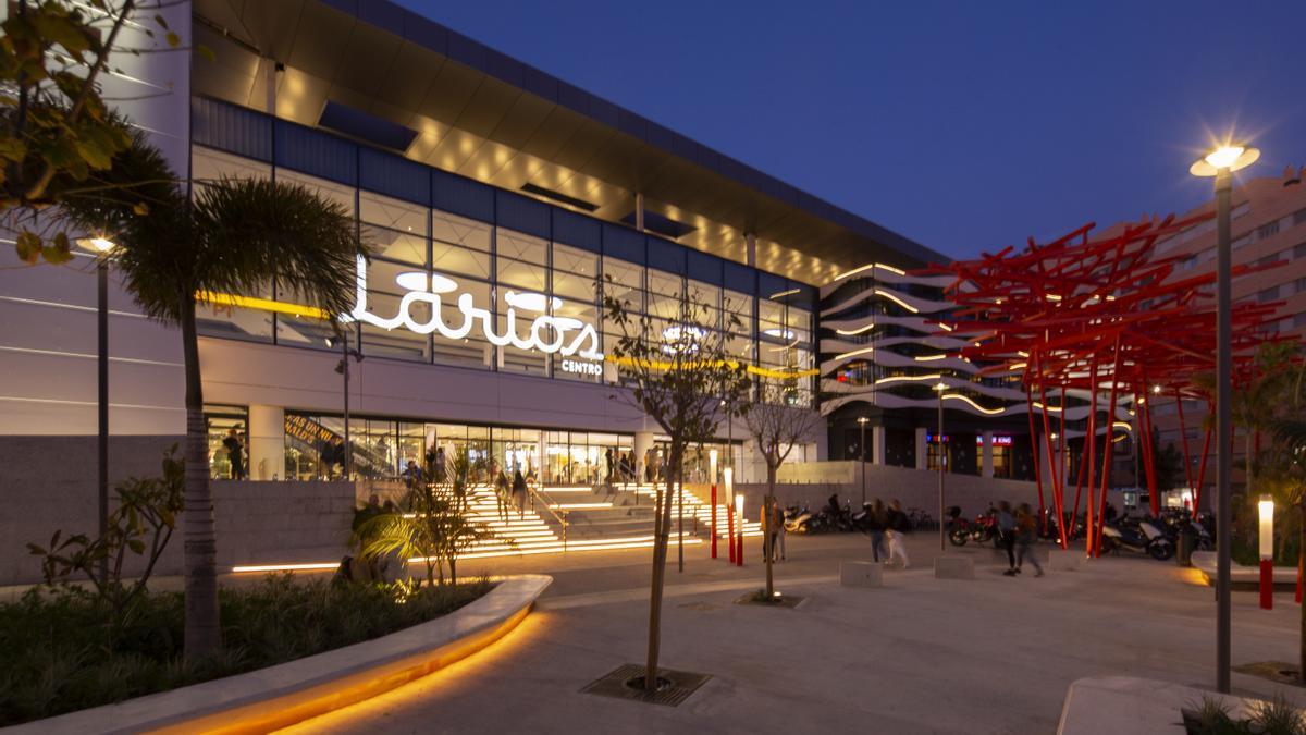 Centro comercial Larios Centro.