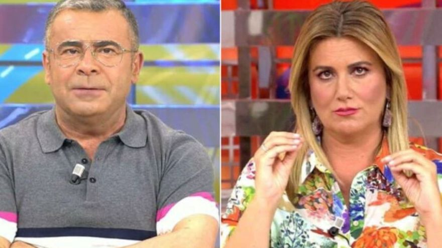"""El """"dardo envenenado"""" de Jorge Javier a Carlota Corredera en Sálvame"""