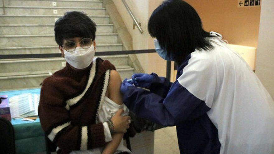 A Figueres es posaran 700 vacunes contra la Covid els propers dies