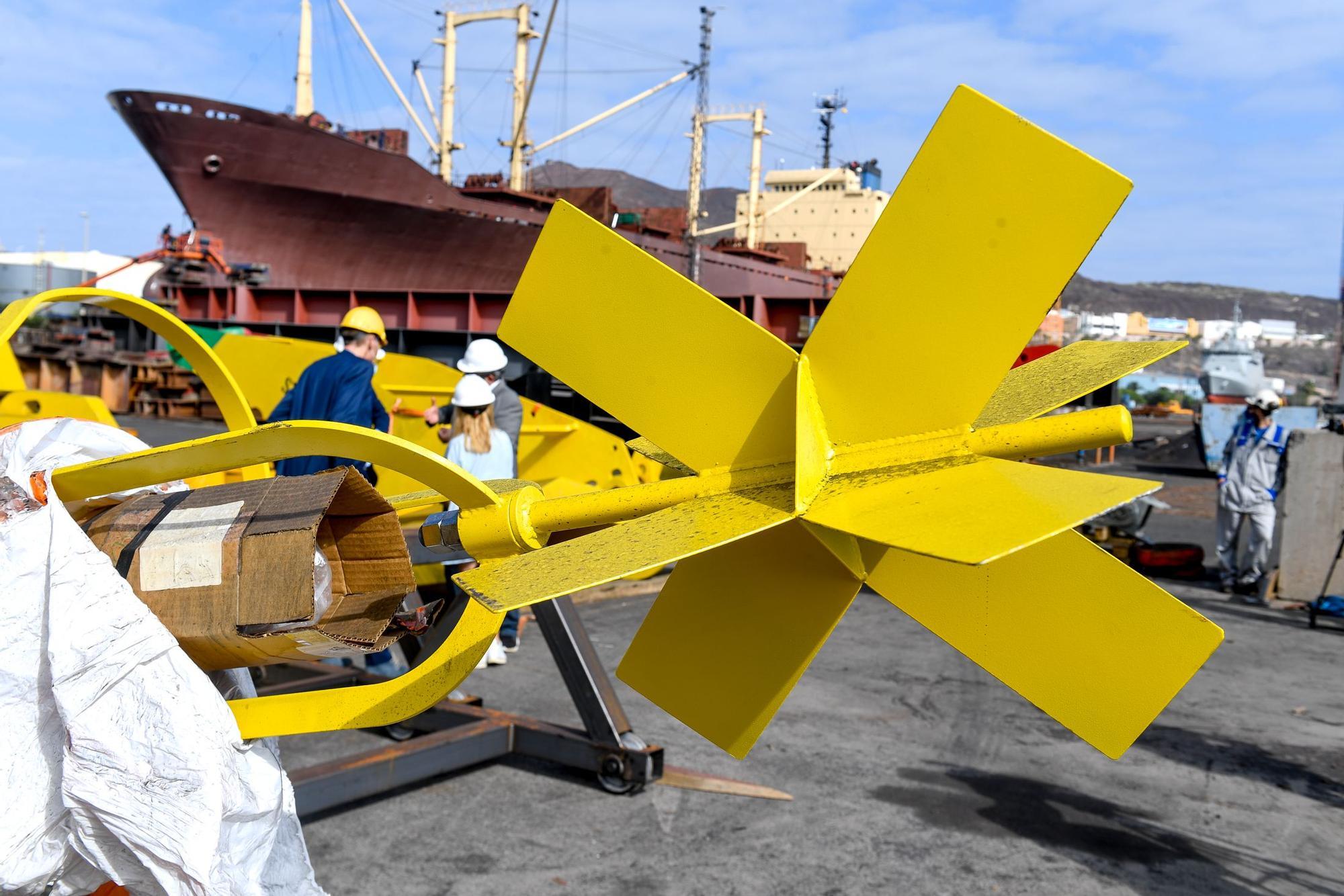 Ensayo de un dispositivo pionero para generar energía limpia