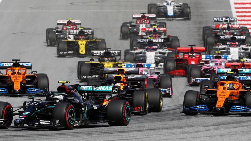 Bottas busca imponerse a Hamilton y repetir victoria en la segunda carrera en Austria