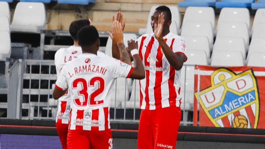 Todos los goles de la jornada 41 de Segunda: Almería, Leganés y Girona, al 'playoff' con suspense