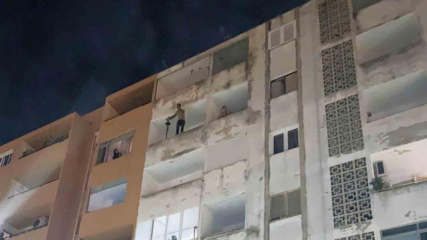 Detenido en Inca un maltratador que amenazaba con lanzarse de un quinto piso