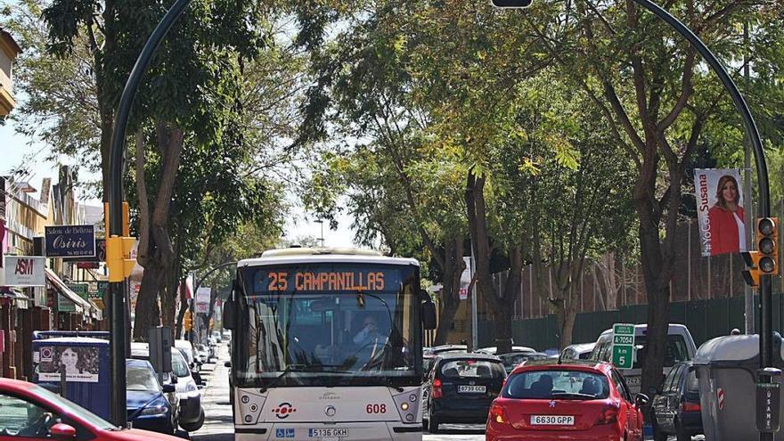 El PSOE pide modificar el trayecto de la línea 25 de la EMT