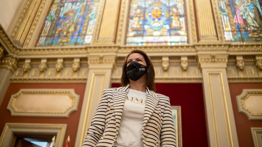 Evelyn Alonso deja de ser concejala no adscrita y recupera sus derechos