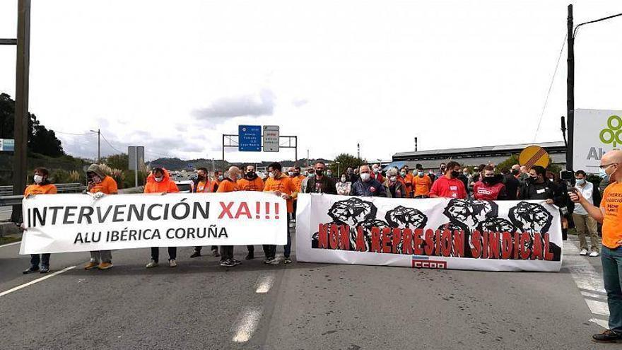 Concentración este jueves para reclamar la intervención de Alu Ibérica