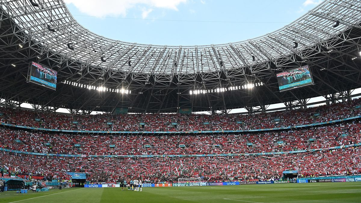 L'estadi Puskas Arena de Budapest