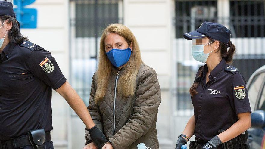 Los forenses concluyen que la viuda negra fingía su parálisis