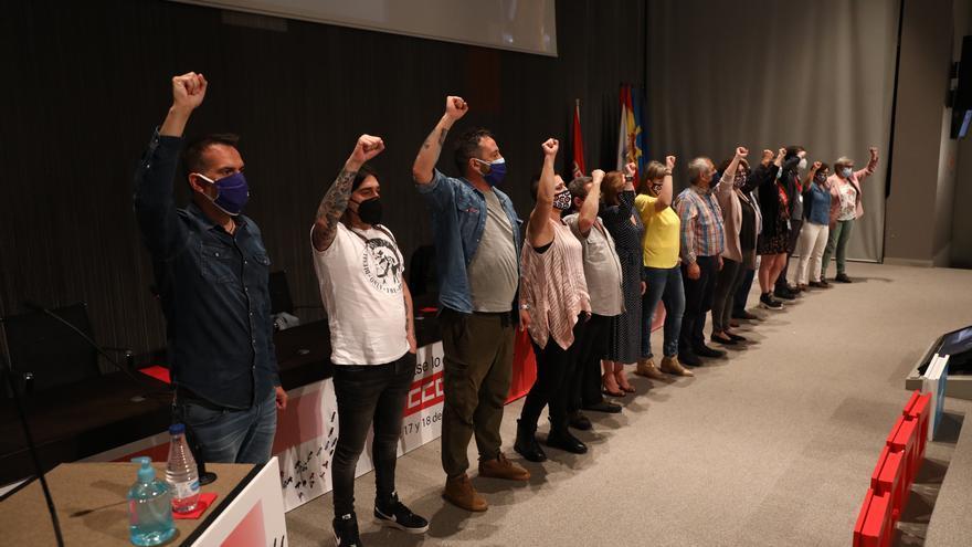 """Zapico repite al frente de Comisiones Obreras: """"Asturias debe ser una tierra de oportunidades"""""""