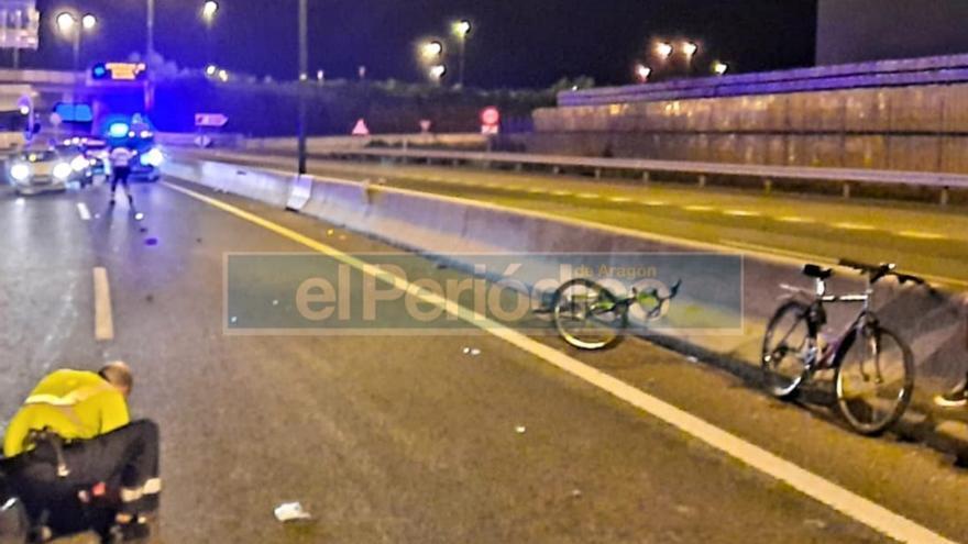 Atropello mortal de un joven de 15 años cuando iba en bici entre La Cartuja y Zaragoza