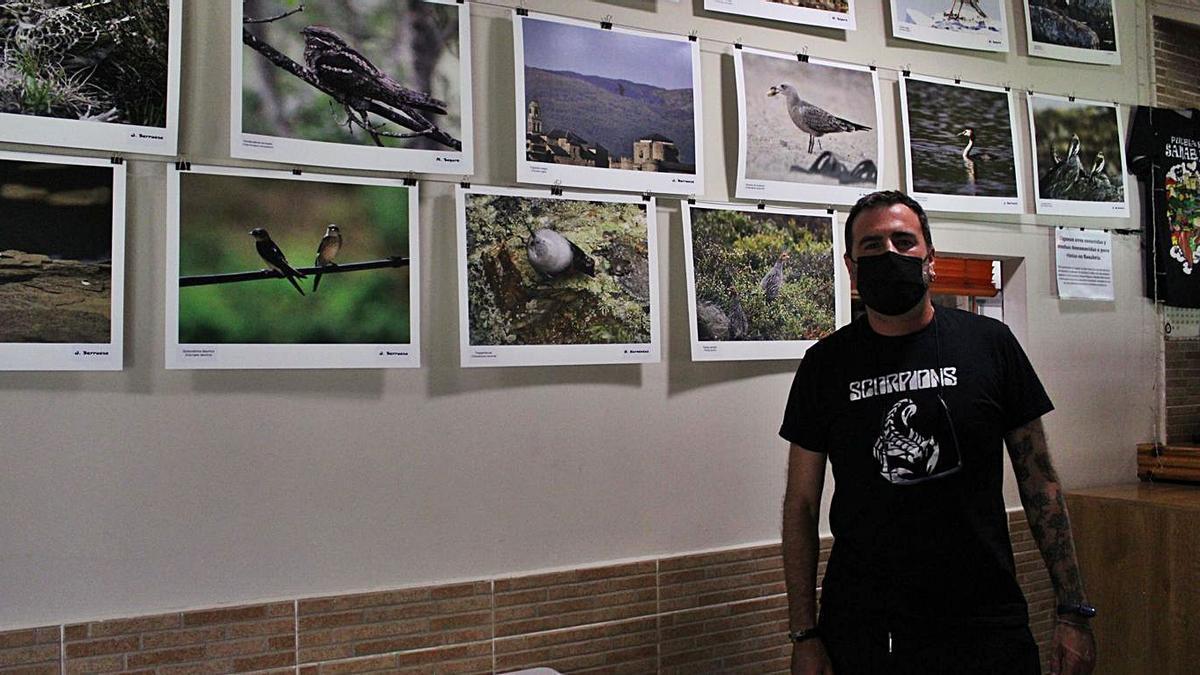 Las aves veranean en el chiringuito del Tera | ARACELI SAAVEDRA