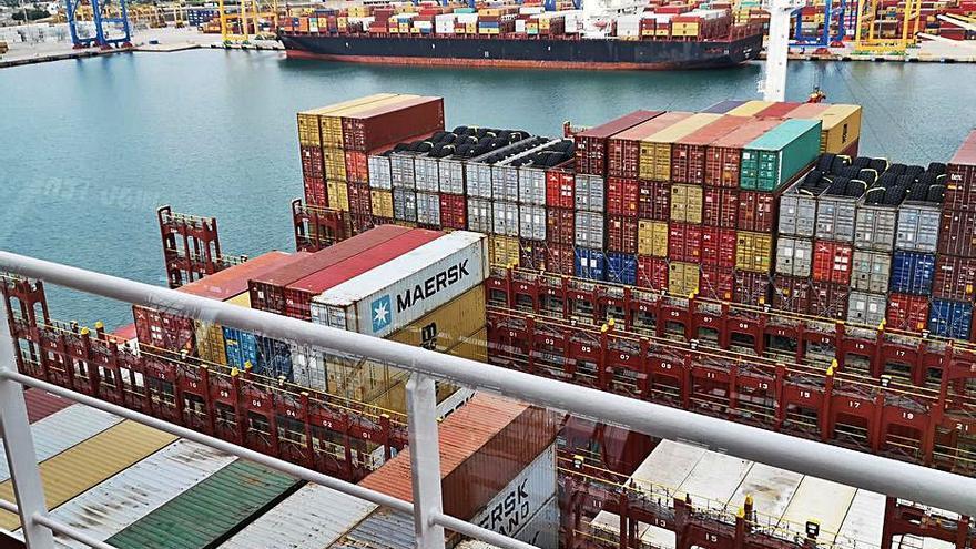 El tráfico en el Puerto de València marca récords en abril
