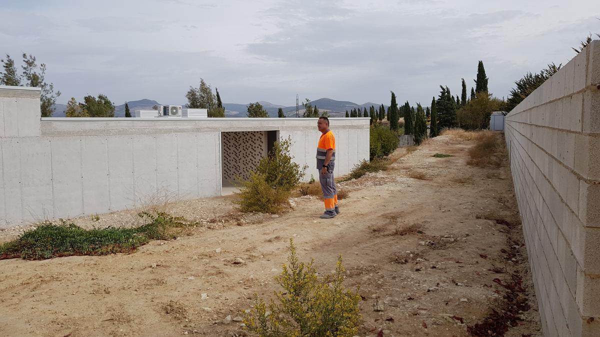Finalizan las obras del edificio principal del cementerio musulmán de Lucena