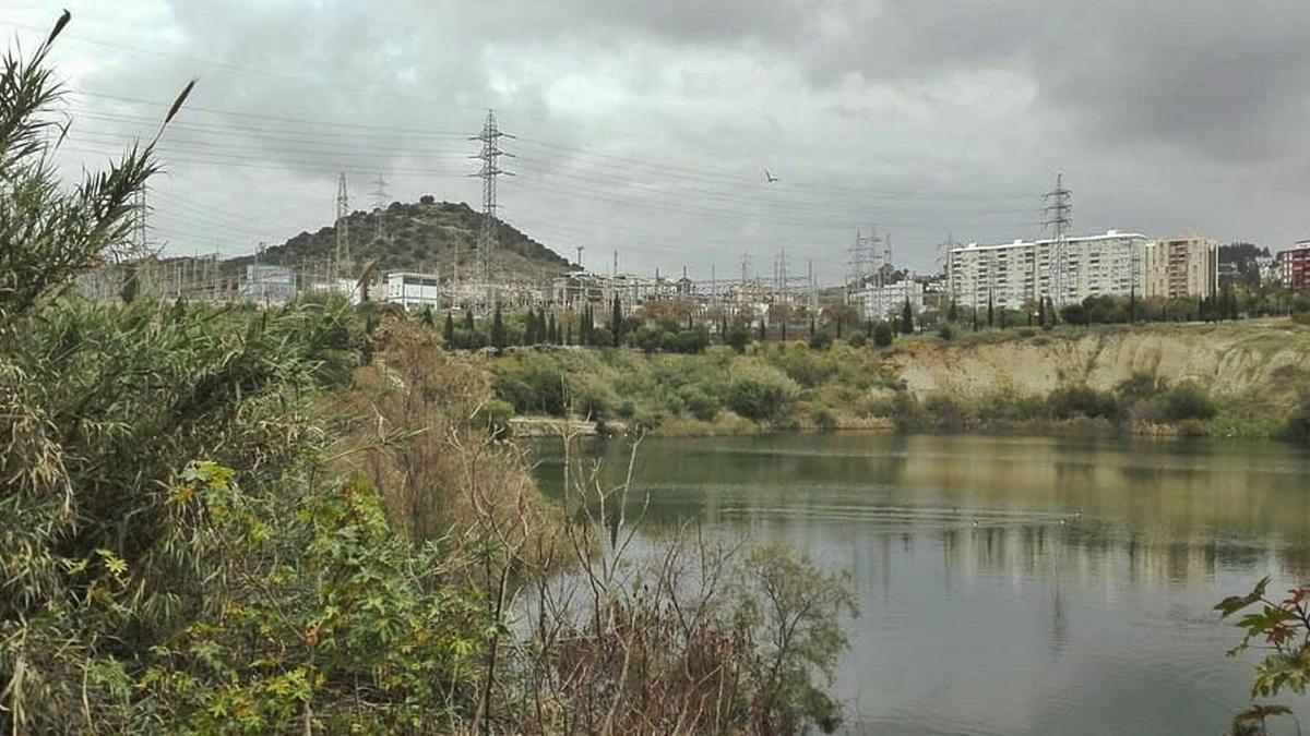 Así luce la laguna de La Barrera, en una imagen tomada a principios de este mes