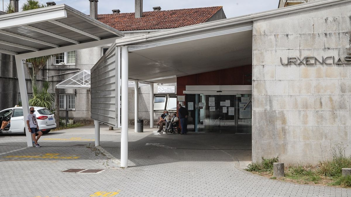 Centro de salud de Ponteareas, en el que se incorpora uno de los médicos