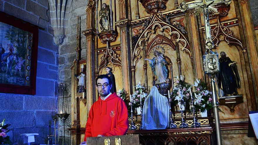 El sacerdote de Beluso deja la parroquia tras 20 años por una excedencia y José López asumirá el cargo