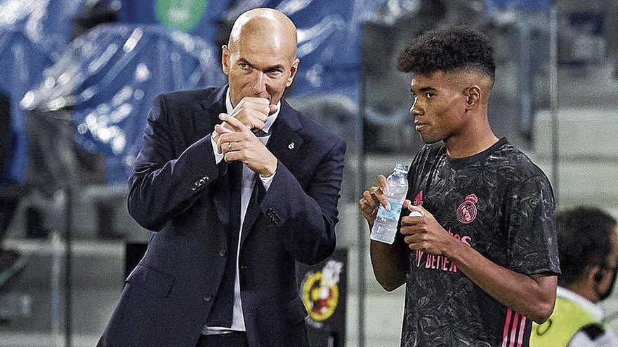 Marvin Park convence a Zidane