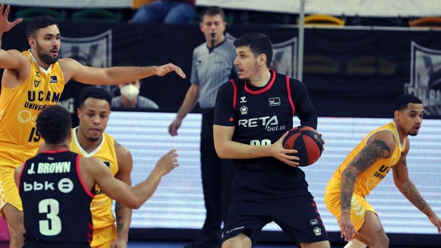 Frankamp lidera una remontada que deja tocado al Bilbao Basket