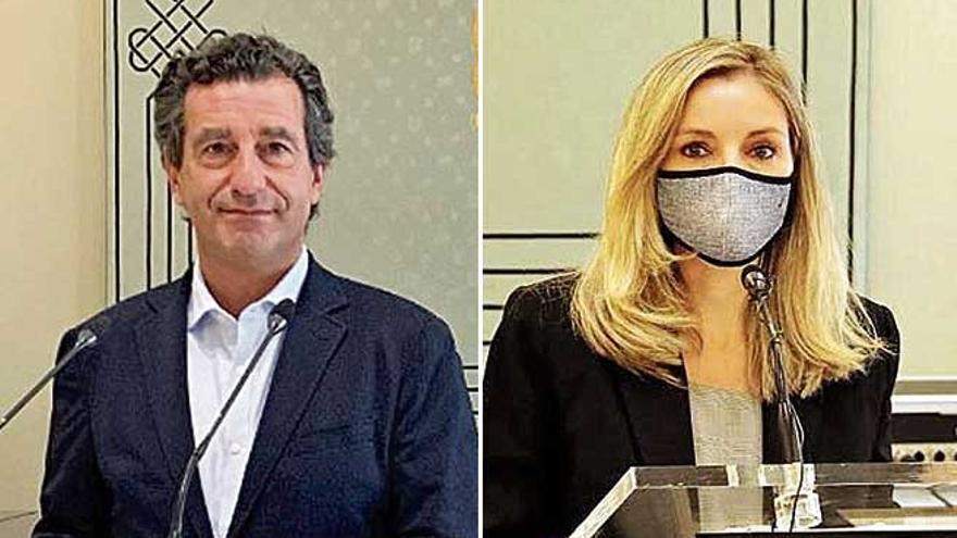 PP y Cs censuran que Armengol «lo fía todo a Europa» y «poca crítica a Sánchez»