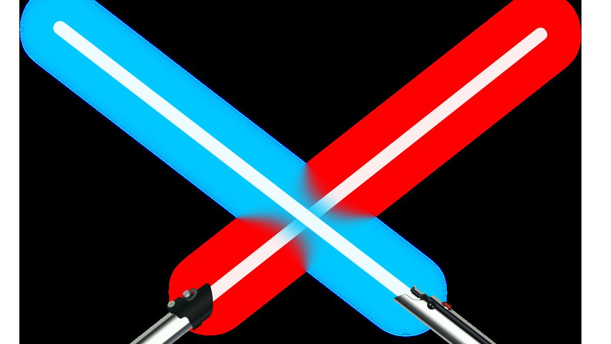 El Lado Luminoso de La Fuerza vs el Lado Oscuro: ¡la batalla definitiva!