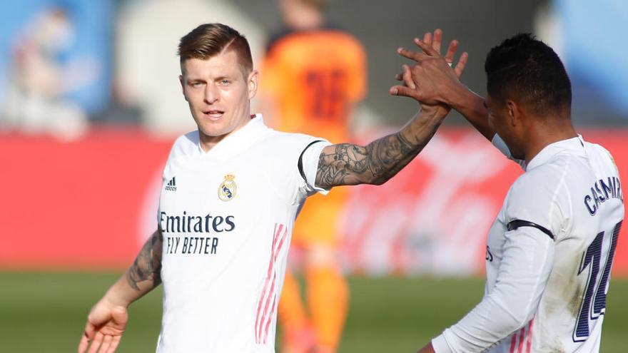 Todos los goles de la jornada 23 de LaLiga: Benzema y Kroos mantienen al Madrid con vida
