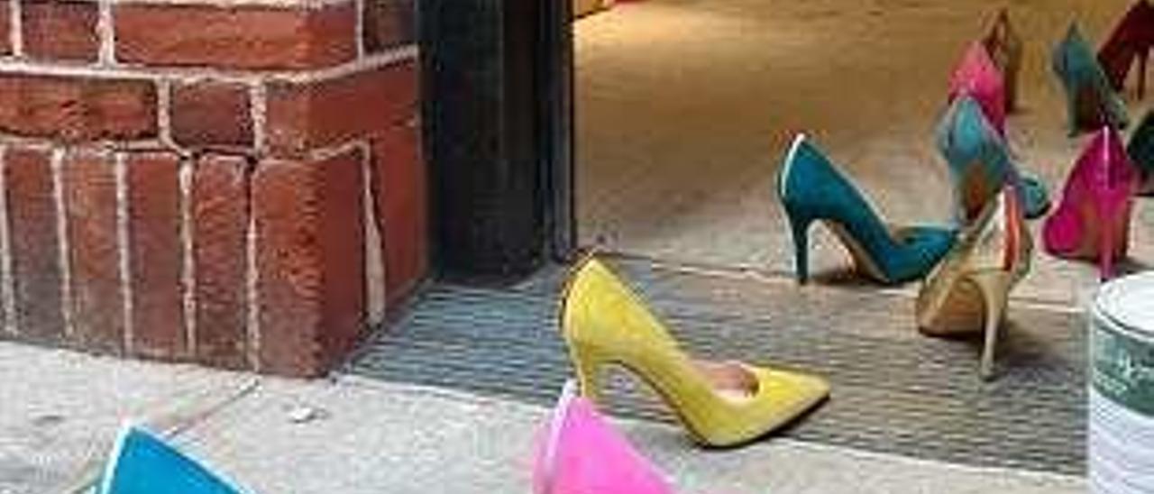 Zapatos de Sarah Jessica Parker.