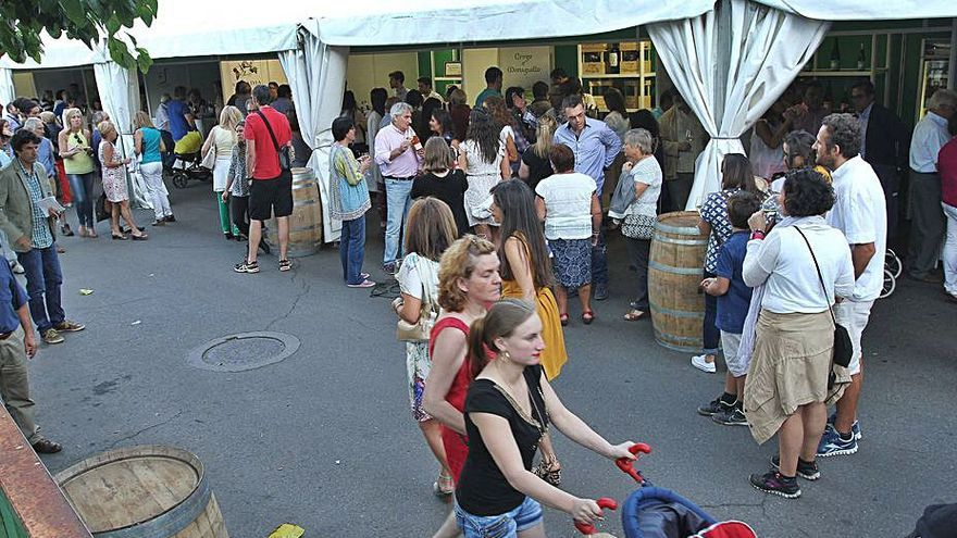 Catas, jornadas formativas y sorteos para celebrar la Feria del Vino de Monterrei